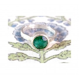 BAGUE BABYLONE EMERAUDE - BABYLONE EMERALD RING