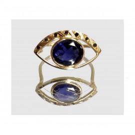 BAGUE GYPSY IOLITE - GYPSY IOLITE RING
